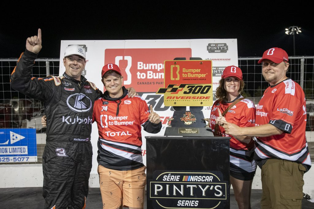 Hathaway wins at the Bumper to Bumper 300