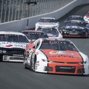 HAGERSVILLE, ON - SEPTEMBER 12: The NASCAR Pinty's series at Jukasa Motor Speedway in Hagersville, Ontario, Canada on Saturday, September 12, 2020. (Photo by Matthew Manor/NASCAR)